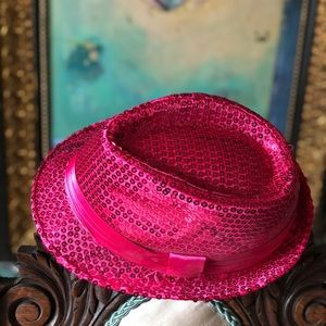 Accessories - Fuchsia sequence hat